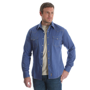 Wrangler Retro® Blue Print Shirt