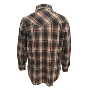Ely Cattleman Textured Plaid Shirt