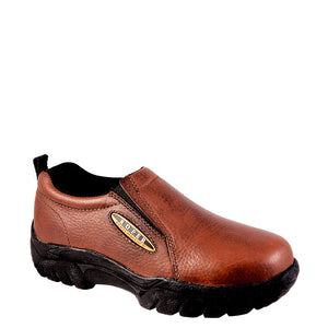 Roper Performance Sport Slip On Mens Brown Shoe
