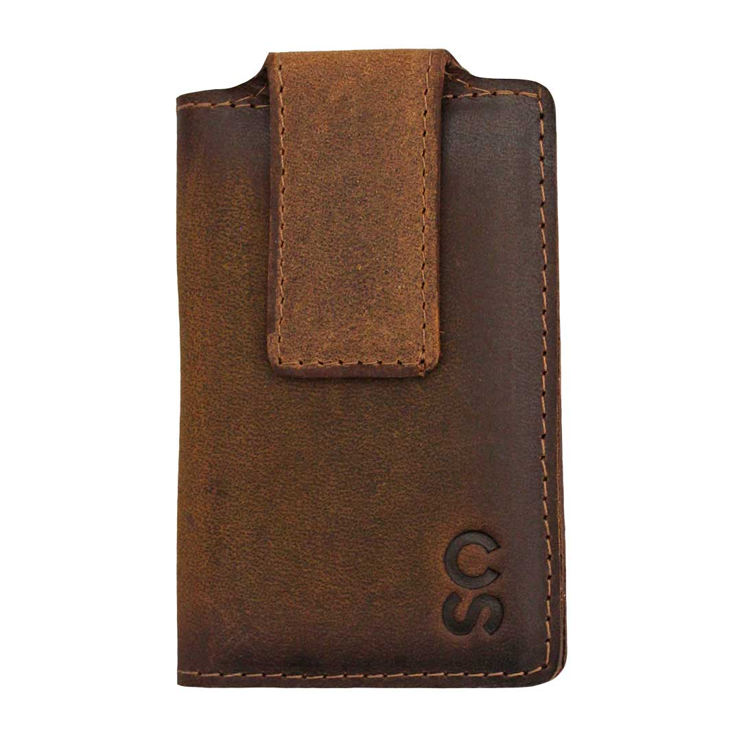 STS Ranchwear Calgary Stampede Leather Money Clip