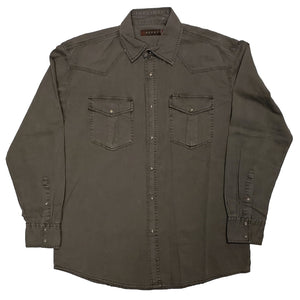 Roper Men's Pigment Twill Wash Down Shirt