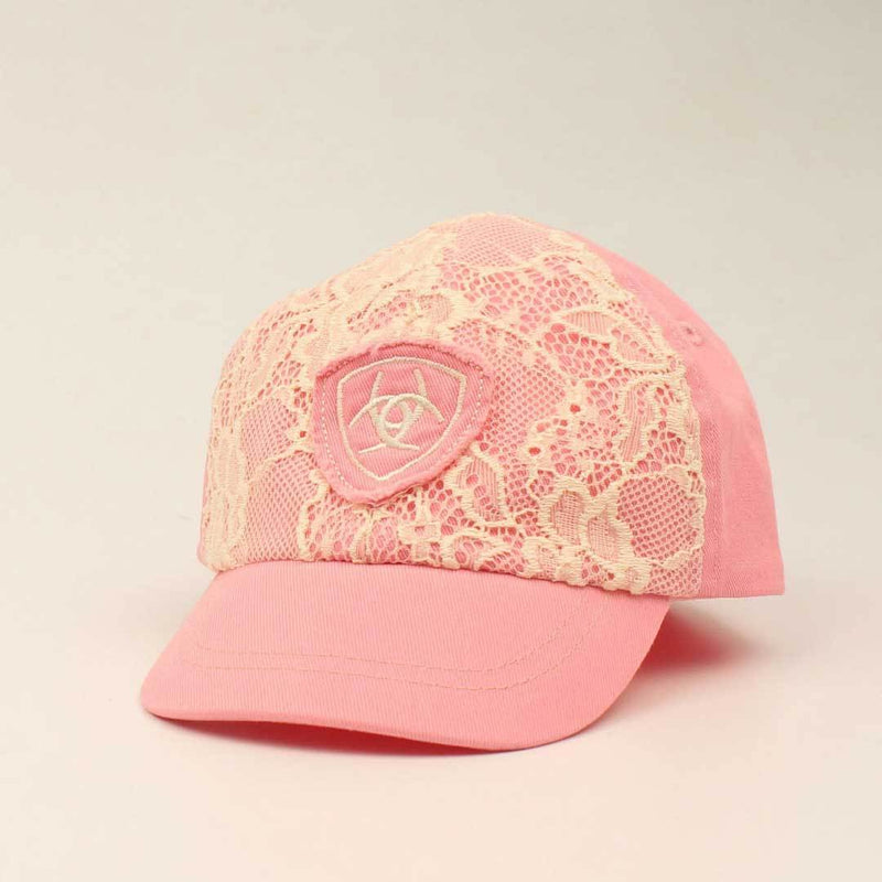 Ariat Baby Girl's Lace Logo Cap