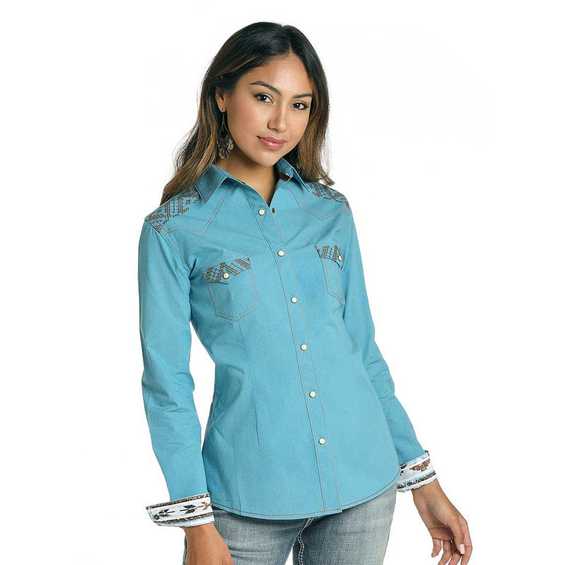 Rough Stock Women's Embroidered Shirt