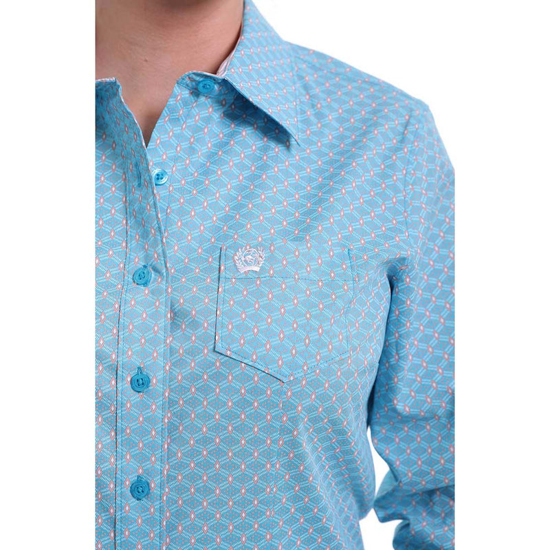 Cinch Women's Diamond Print Shirt
