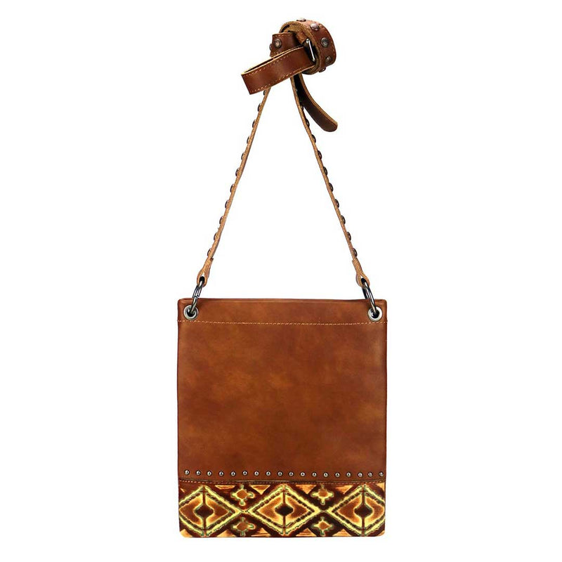 Montana West Leather Shoulder/Crossbody Bag