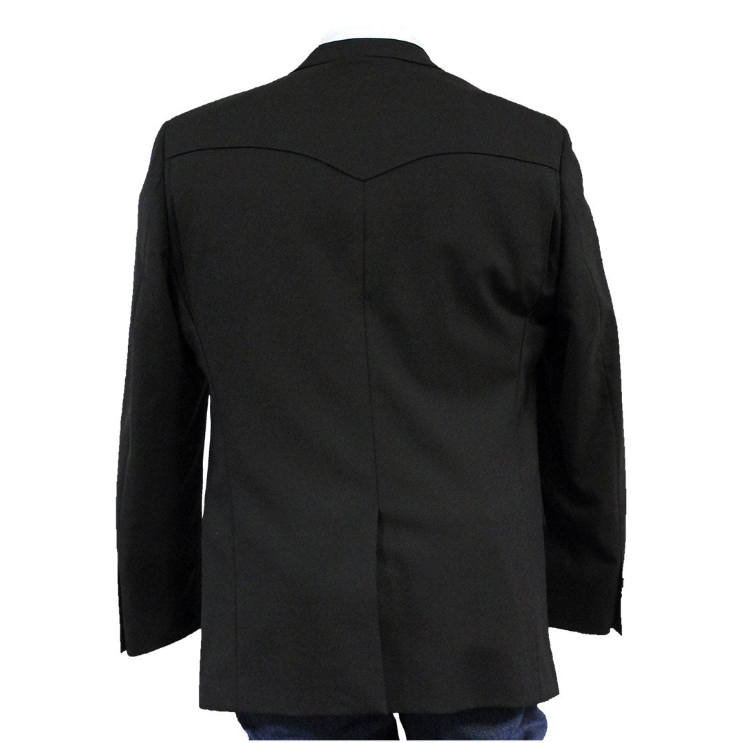 Rancher Men's Black Western Sport Coat