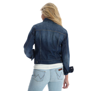 Wrangler Premium Dark Denim Jacket