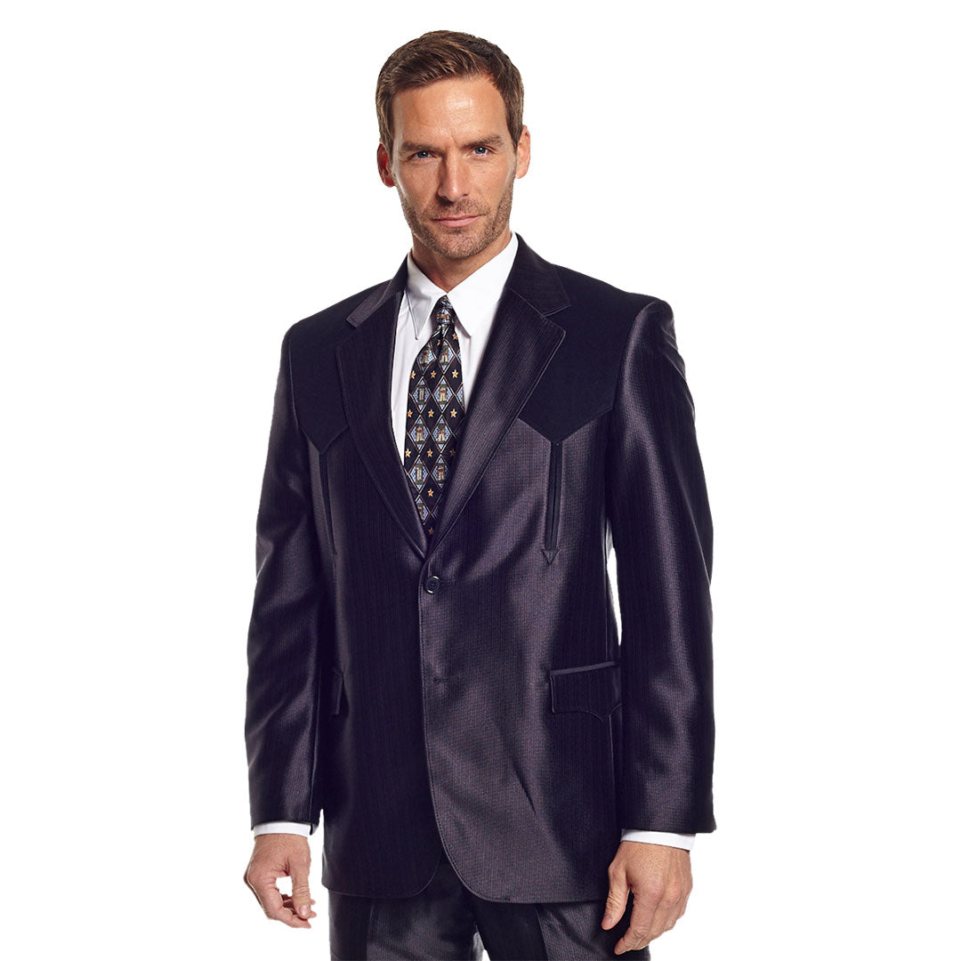 Circle S Black Swedish Knit Boise Sport Coat