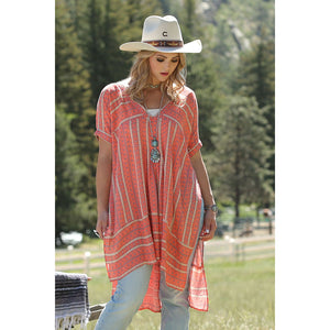 Cruel Denim Coral Tunic