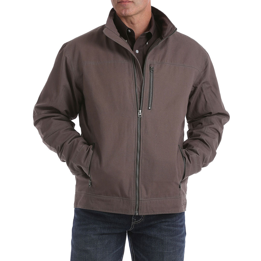 Cinch Canvas Light Brown Mens Jacket