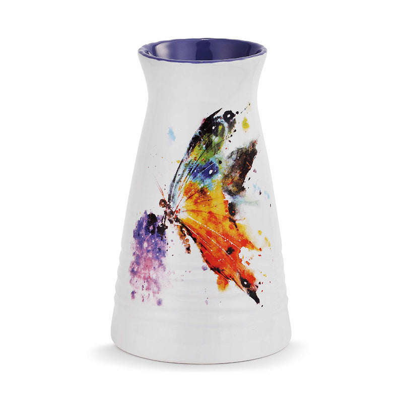 Peak Time Kaleidoscope Butterfly Bud Vase