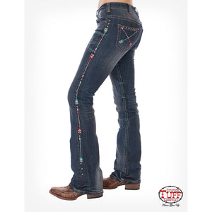 Cowgirl Tuff Wild Pathmaker Boot Cut Jeans