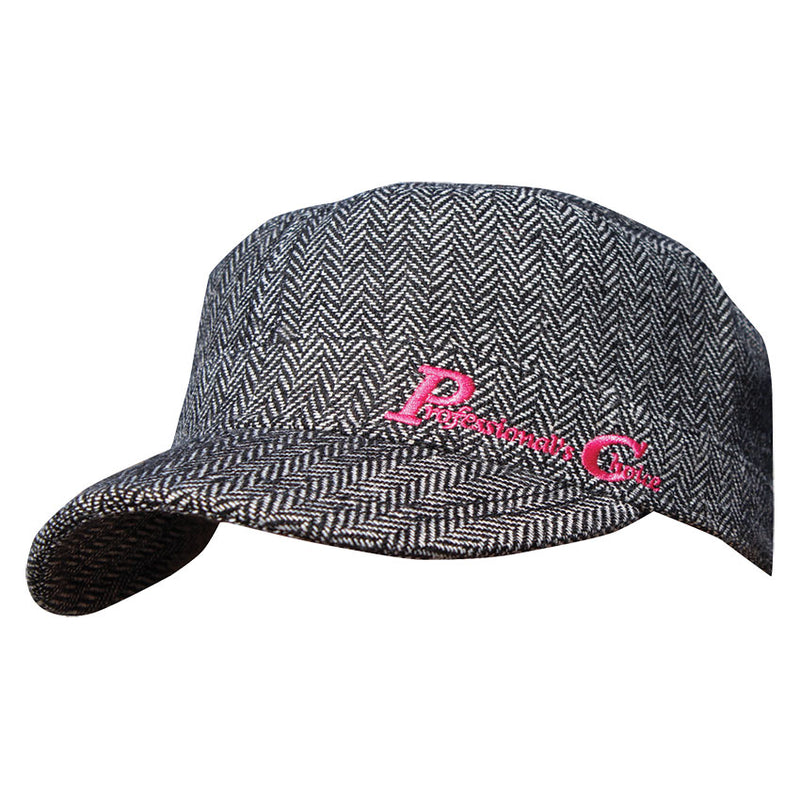 Professional's Choice Grey with Pink Logo Cap