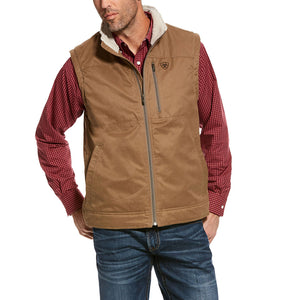 Ariat Grizzly Canvas Mens Cub Vest