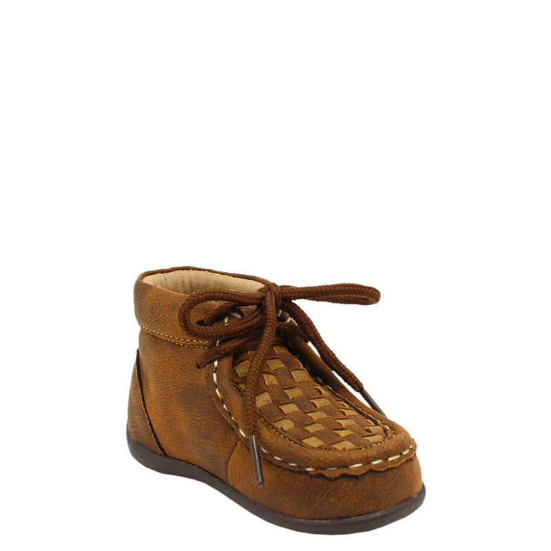 DBL Barrel Carson Tan & Brown Boys Shoes