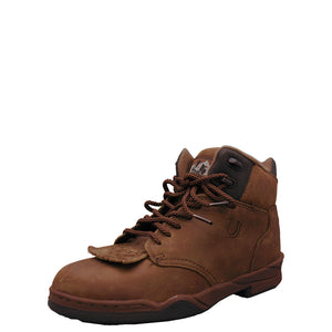 Roper Horseshoe Kiltie Brown Boot