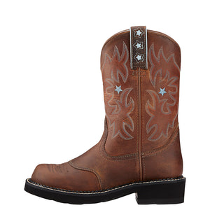 Ariat Probaby Driftwood Brown Cowgirl Boots