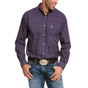 Ariat® Spencer Classic Nightshade Mens Shirt
