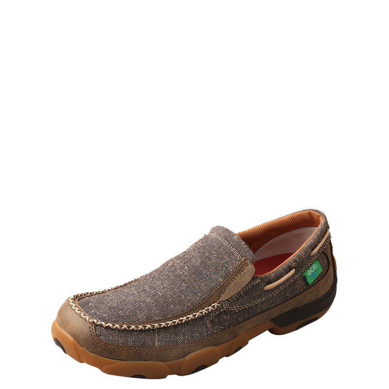 Twisted X ECO TWX Dust Mens Driving Moccasin Shoe
