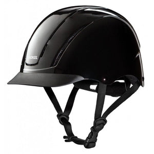 Troxel Equestrian Black Riding Helmet