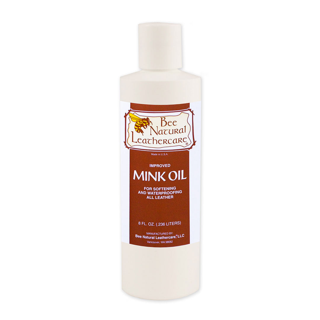 Bee Natural Leathercare Mink Oil Liquid