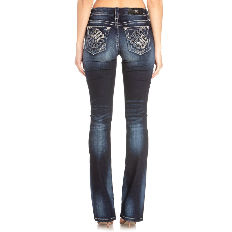 Miss Me Life In Motion Bootcut Womens Jean