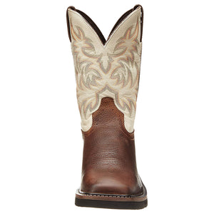 Justin Driller Copper Cowboy Work Boots