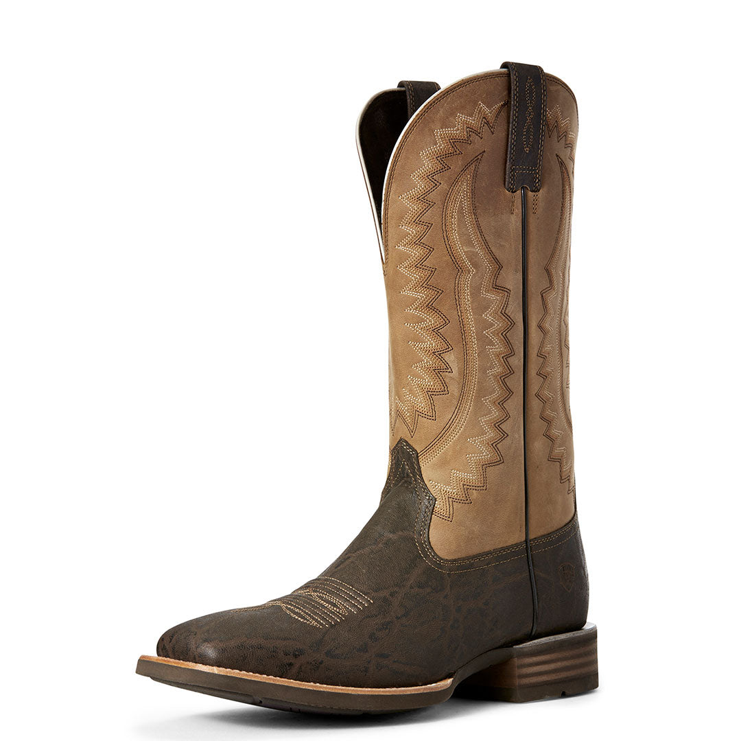Ariat Hot Iron Elephant Print Cowboy Boots