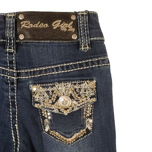 Rodeo Girl Embroidered Girls Jeans