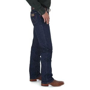 Wrangler Cowboy Cut Stretch Regular Fit Navy Jeans