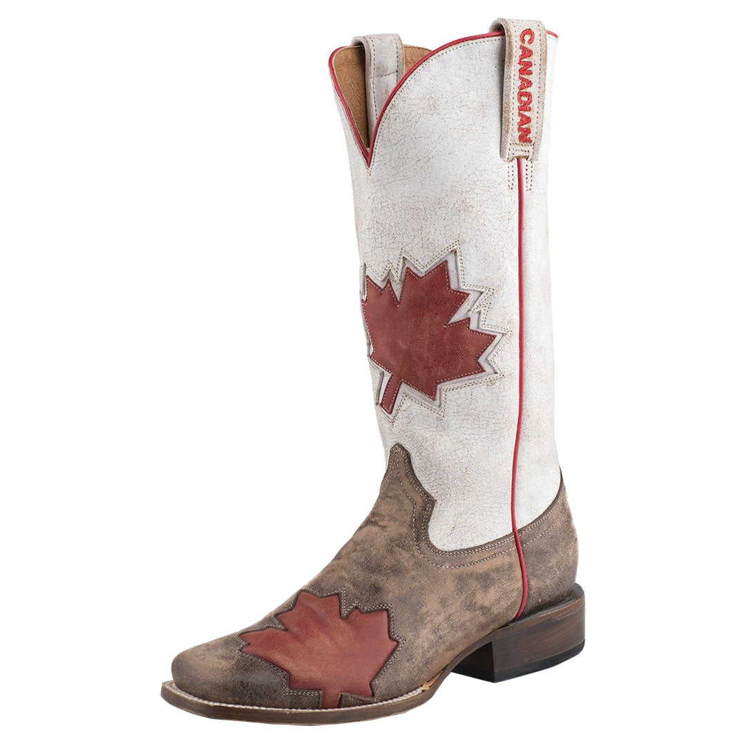 Roper Canadian Flag Cowgirl Boots