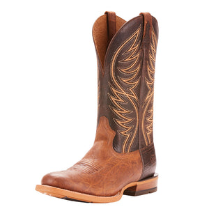 Ariat Slick Fork Brown Cowboy Boots