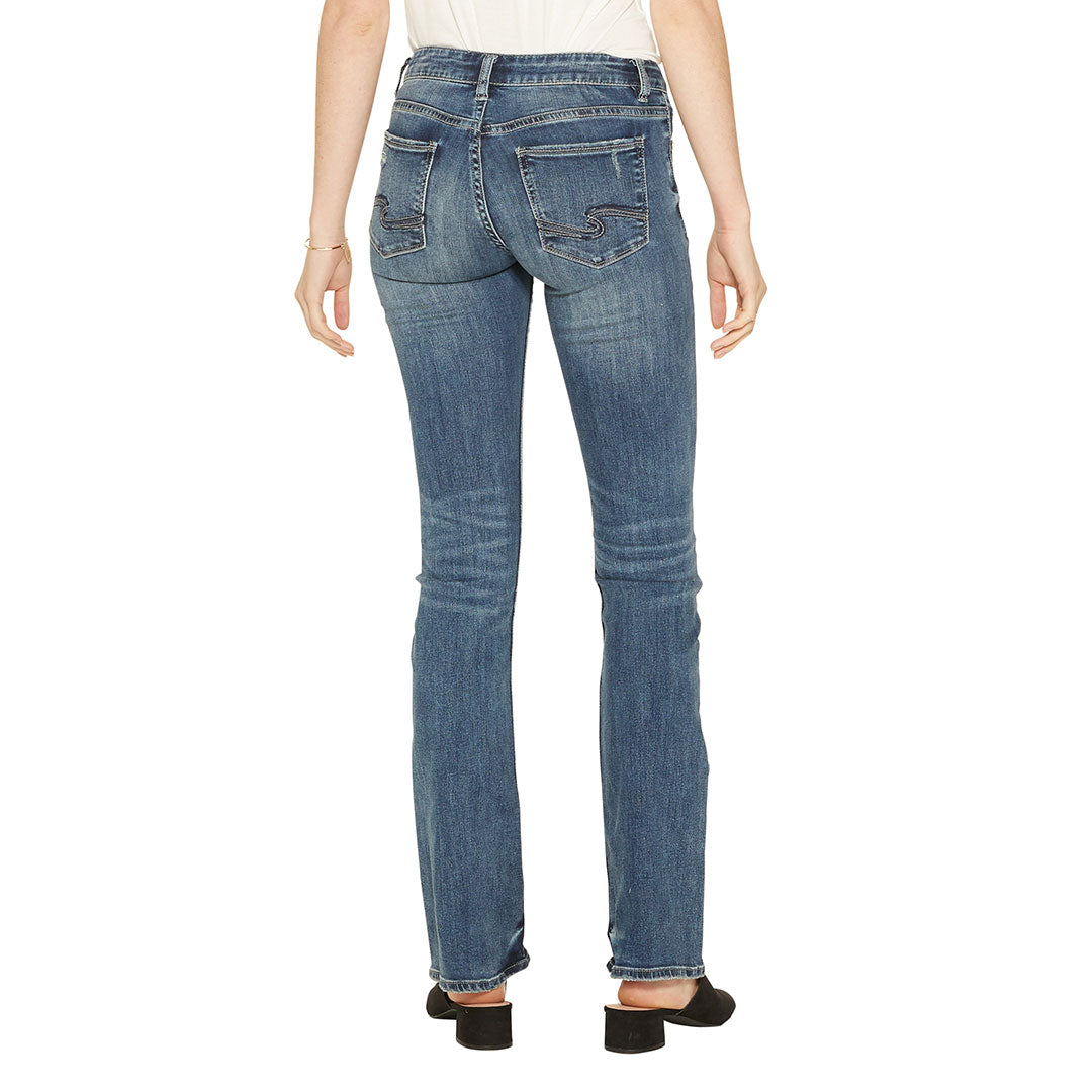Silver Jeans Tuesday Slim Boot Cut Jeans