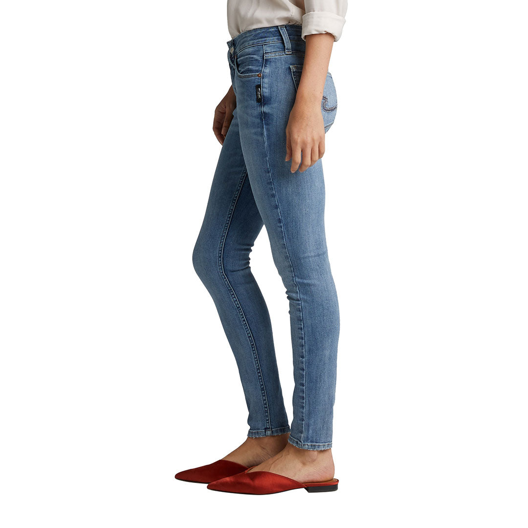 Silver Jeans Avery Light Wash Skinny Jeans