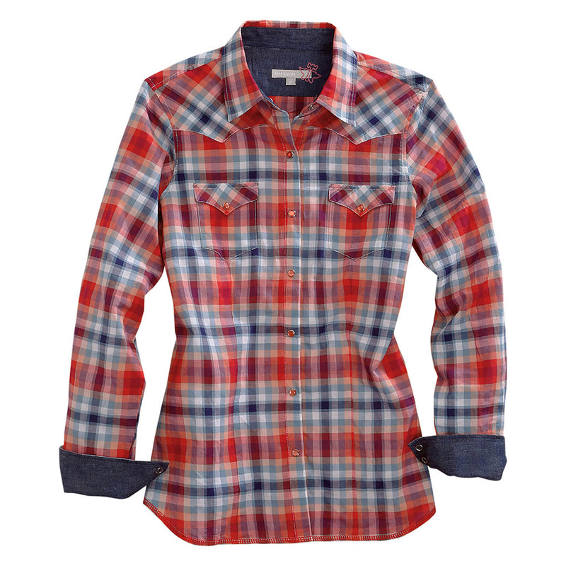 Tin Haul Red & Blue Plaid Shirt
