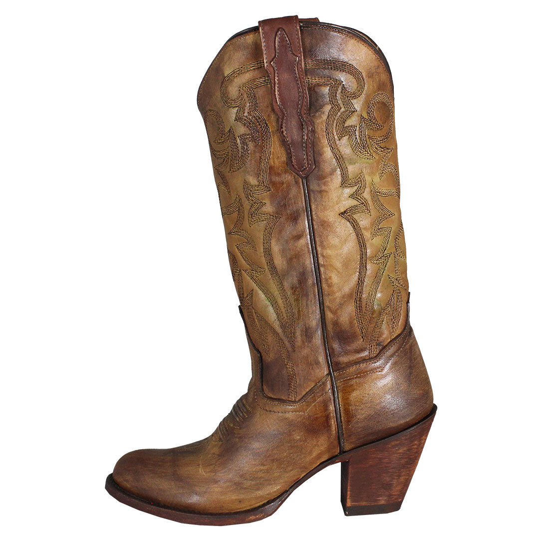 Dan Post Distressed Vintage Cowgirl Boots