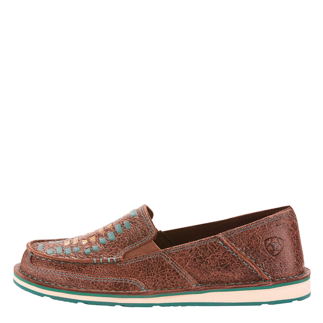 Ariat Cruiser Turquoise Weave Shoe