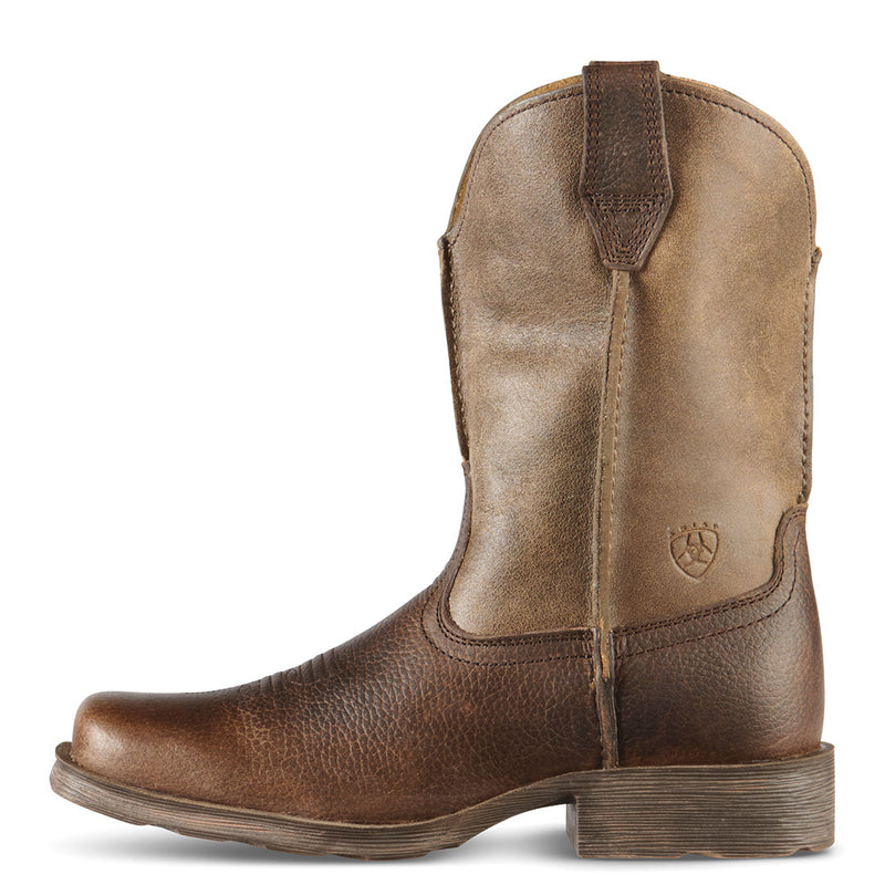 Ariat Boy's Rambler Square Toe Cowboy Boots