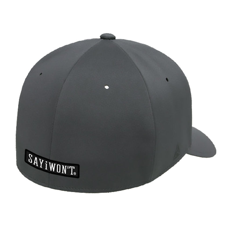 SAYiWON'T Vintage Delta Flexfit Dark Grey Cap