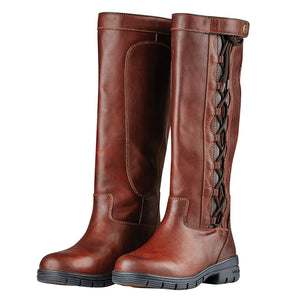 Dublin Pinnacle Grained Womens Brown Boots