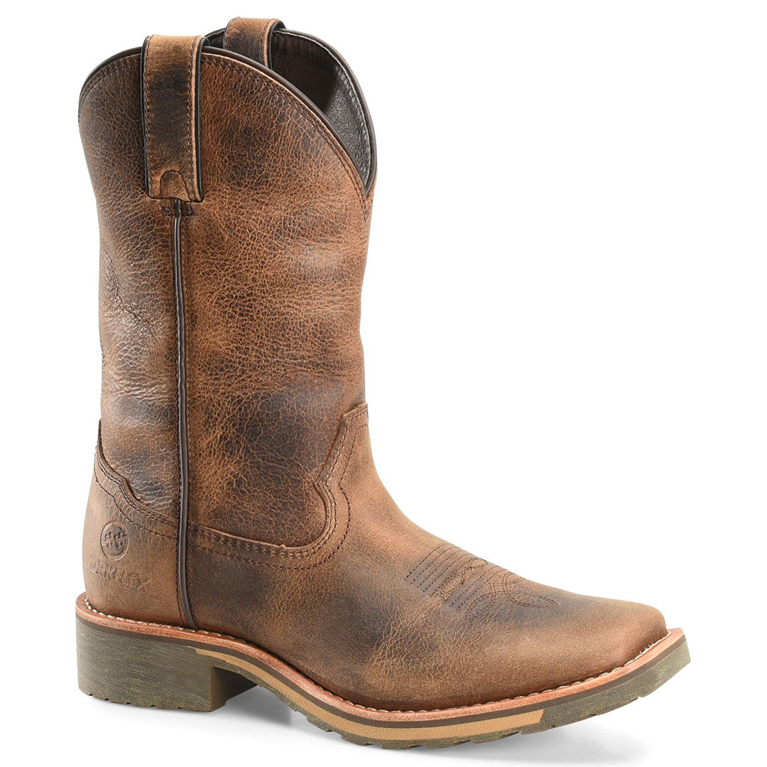 Double H Jadon Maxflex Brown Cowboy Boot