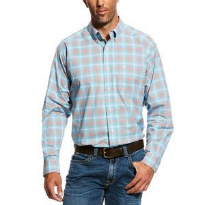 Ariat Naragon Blue Plaid Stretch Shirt