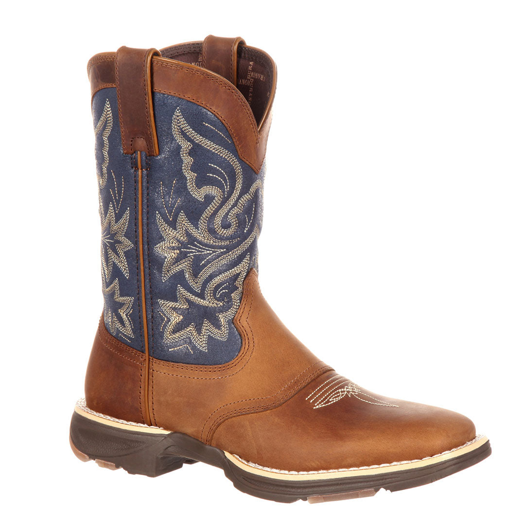 Durango Denim Blue Ultra-Lite Cowgirl Boots