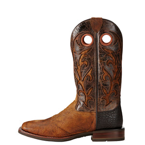 Ariat Barstow Copper Inlay Cowboy Boot