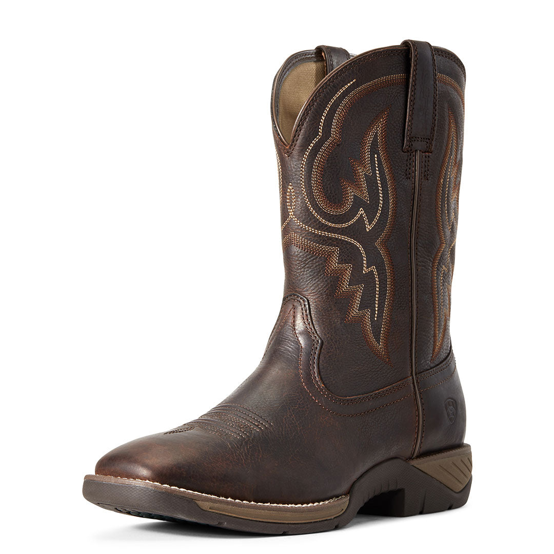 Ariat All Day Barley Brown Cowboy Boots