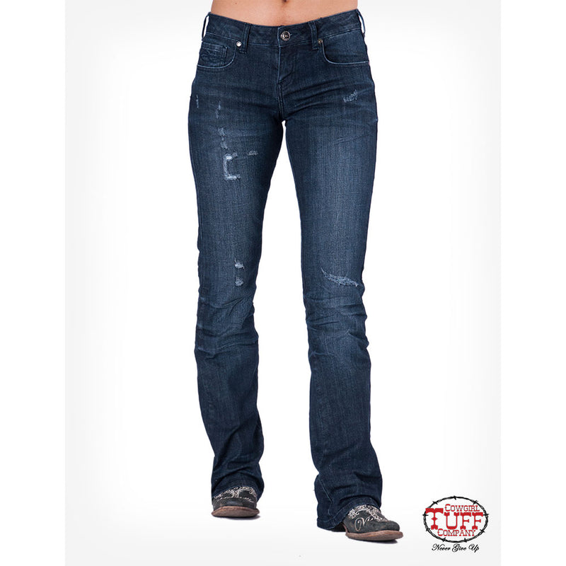 Cowgirl Tuff Haul & Hustle Ripped Jean