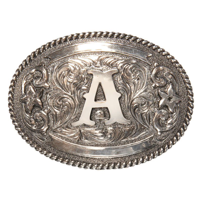 AndWest Initial Belt Buckle
