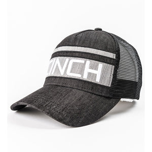 Cinch Black & White Trucker Cap