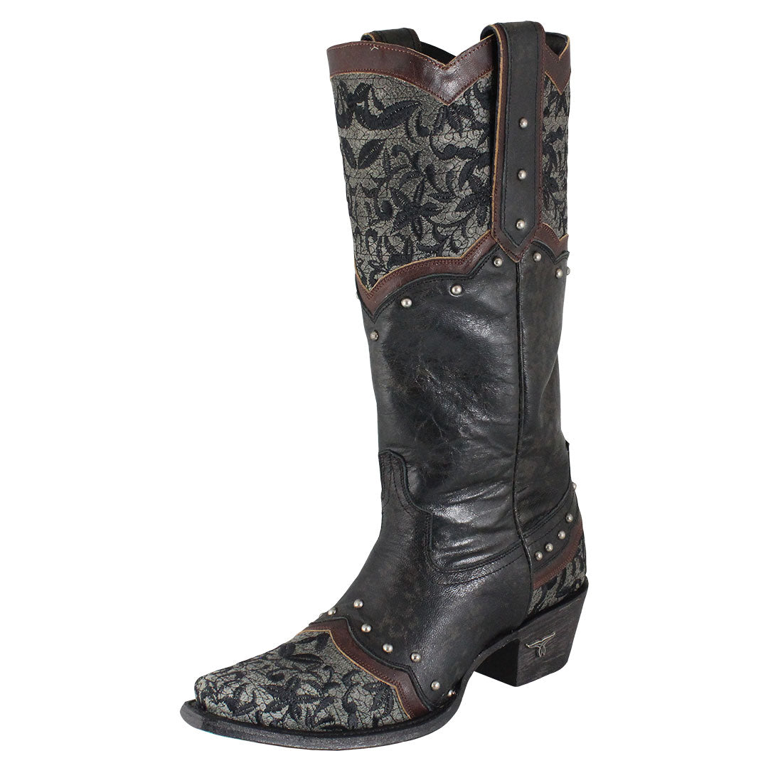Lane Kimmie Textured Cowgirl Boots