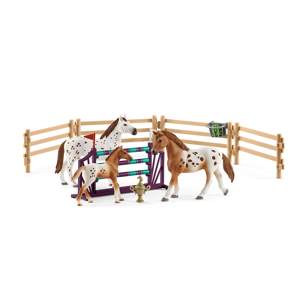 Schleich Horse Club Lisa's Tournament Training Toy